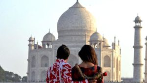 Taj Mahal Tour on St. Valentine's Day