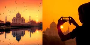 Taj Mahal Sunrise View